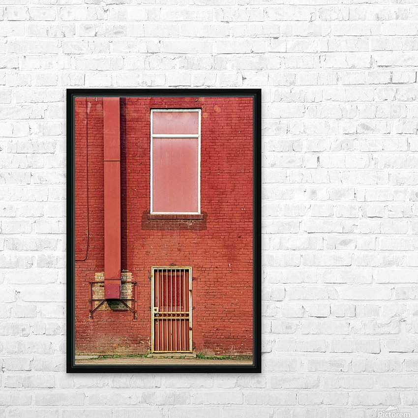 Seeing Red... HD Sublimation Metal print with Decorating Float Frame (BOX)