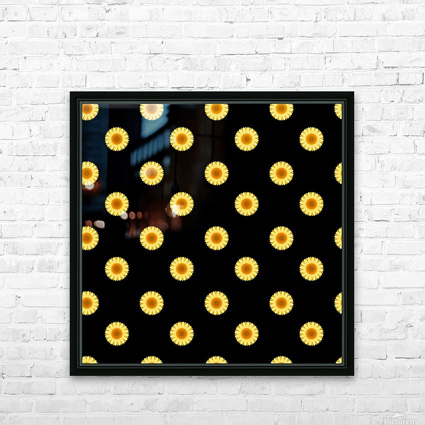 Sunflower (30)_1559876061.0507 HD Sublimation Metal print with Decorating Float Frame (BOX)