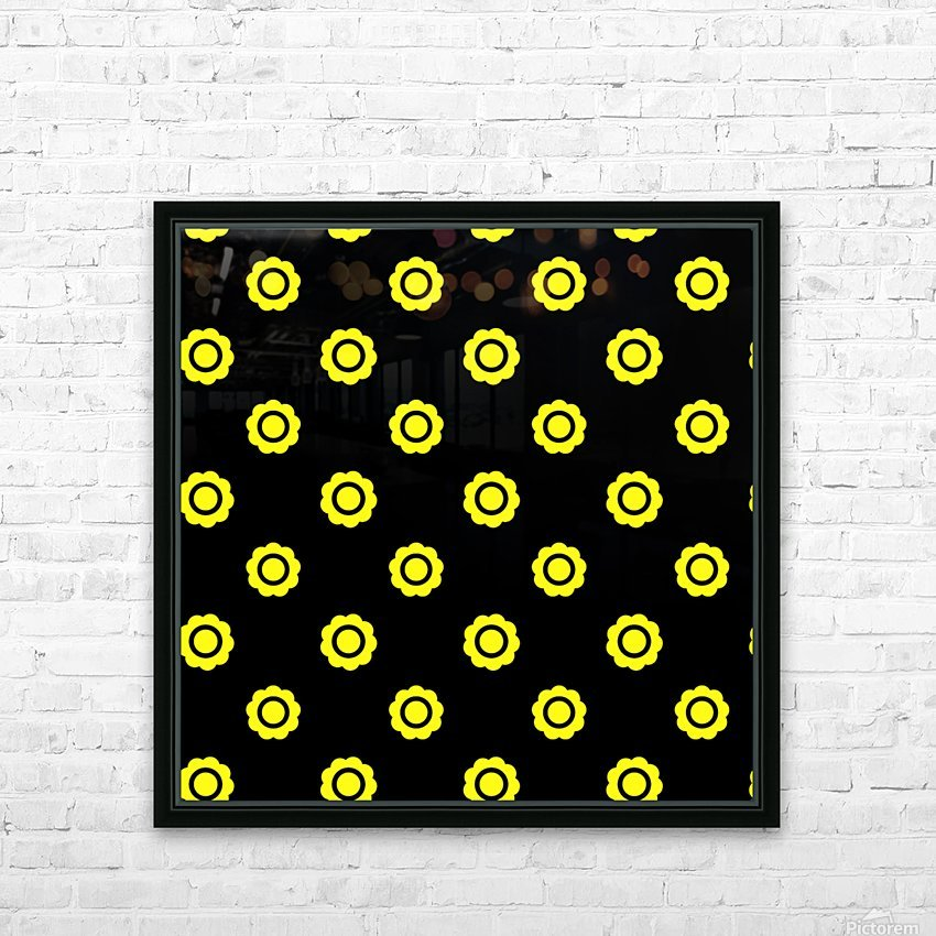 Sunflower (26)_1559875861.291 HD Sublimation Metal print with Decorating Float Frame (BOX)