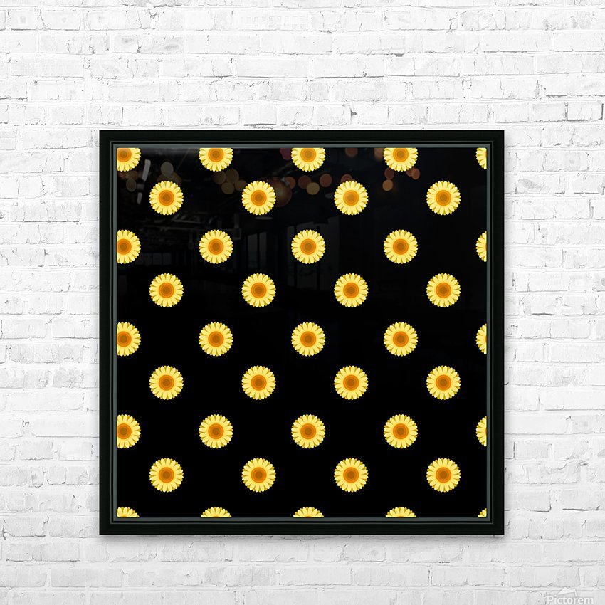 Sunflower (30)_1559875865.0546 HD Sublimation Metal print with Decorating Float Frame (BOX)
