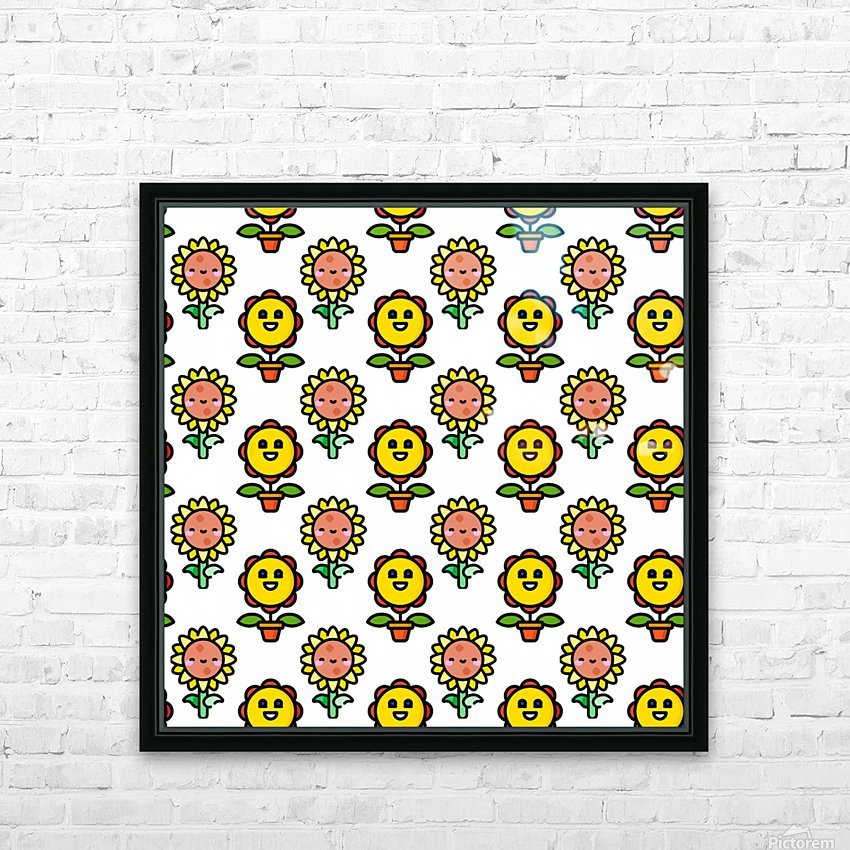 Sunflower_1559876174.8267 HD Sublimation Metal print with Decorating Float Frame (BOX)