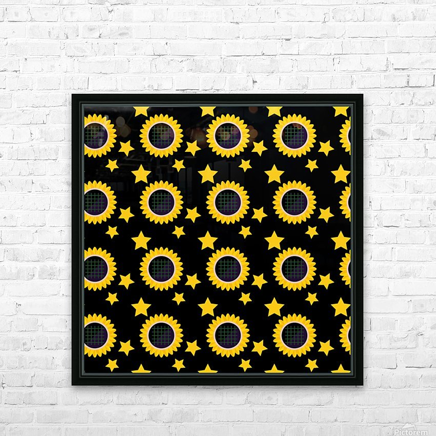Sunflower (23)_1559876174.6454 HD Sublimation Metal print with Decorating Float Frame (BOX)