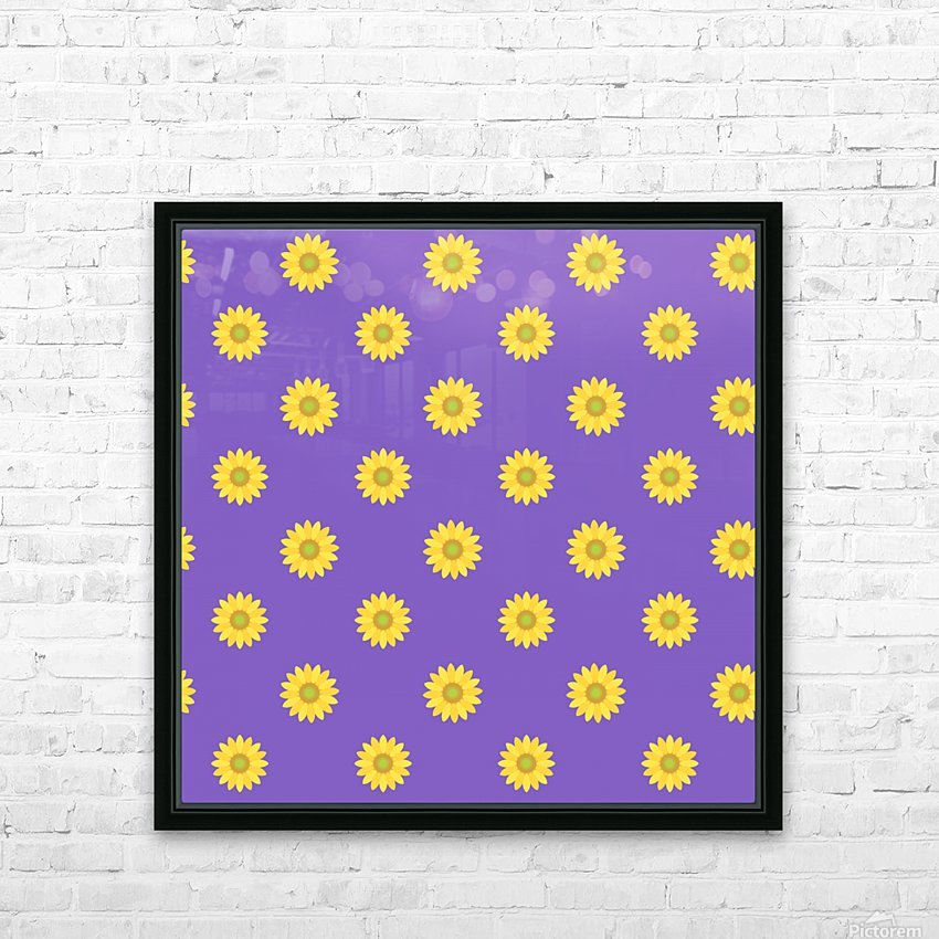 Sunflower (35)_1559876250.2006 HD Sublimation Metal print with Decorating Float Frame (BOX)