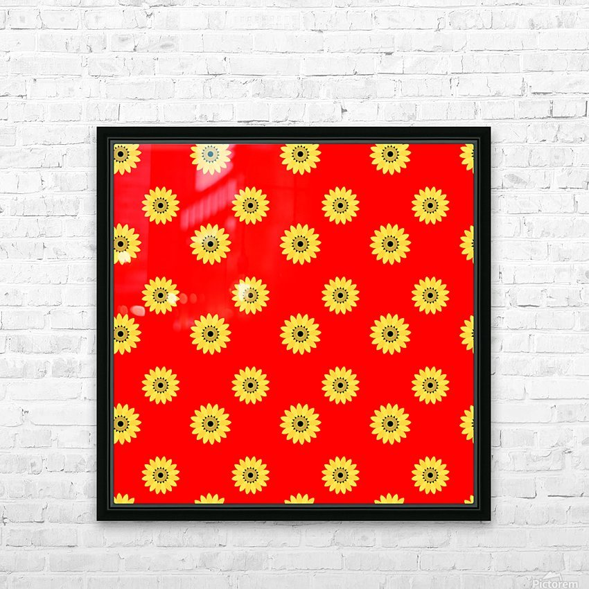 Sunflower (43)_1559876251.5012 HD Sublimation Metal print with Decorating Float Frame (BOX)
