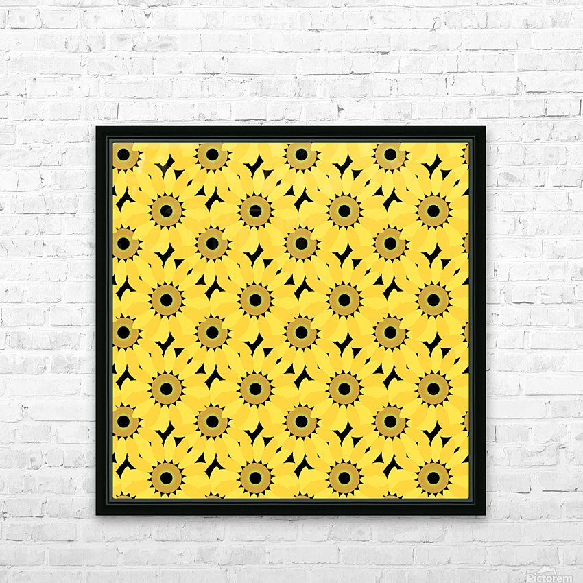 Sunflower (45)_1559876382.1976 HD Sublimation Metal print with Decorating Float Frame (BOX)