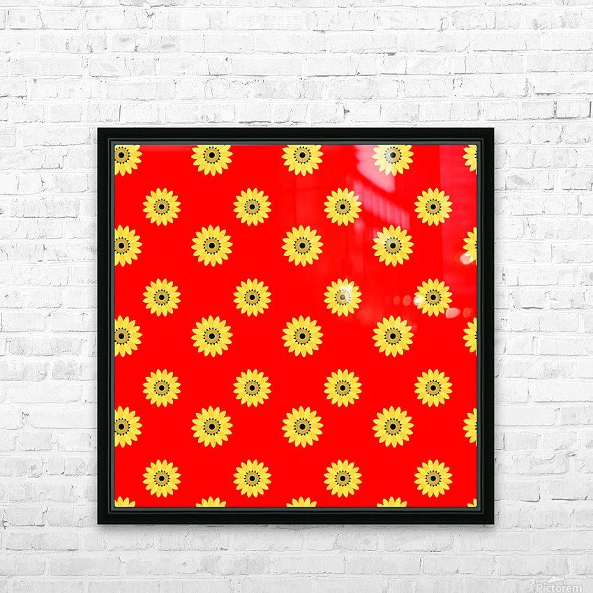 Sunflower (43)_1559876736.3891 HD Sublimation Metal print with Decorating Float Frame (BOX)