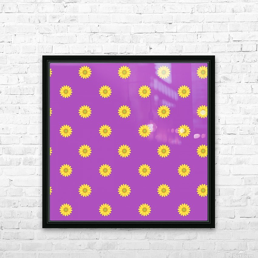 Sunflower (34)_1559876732.17 HD Sublimation Metal print with Decorating Float Frame (BOX)