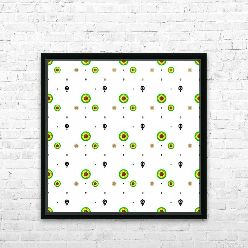 Sunflower (3)_1559876732.4859 HD Sublimation Metal print with Decorating Float Frame (BOX)