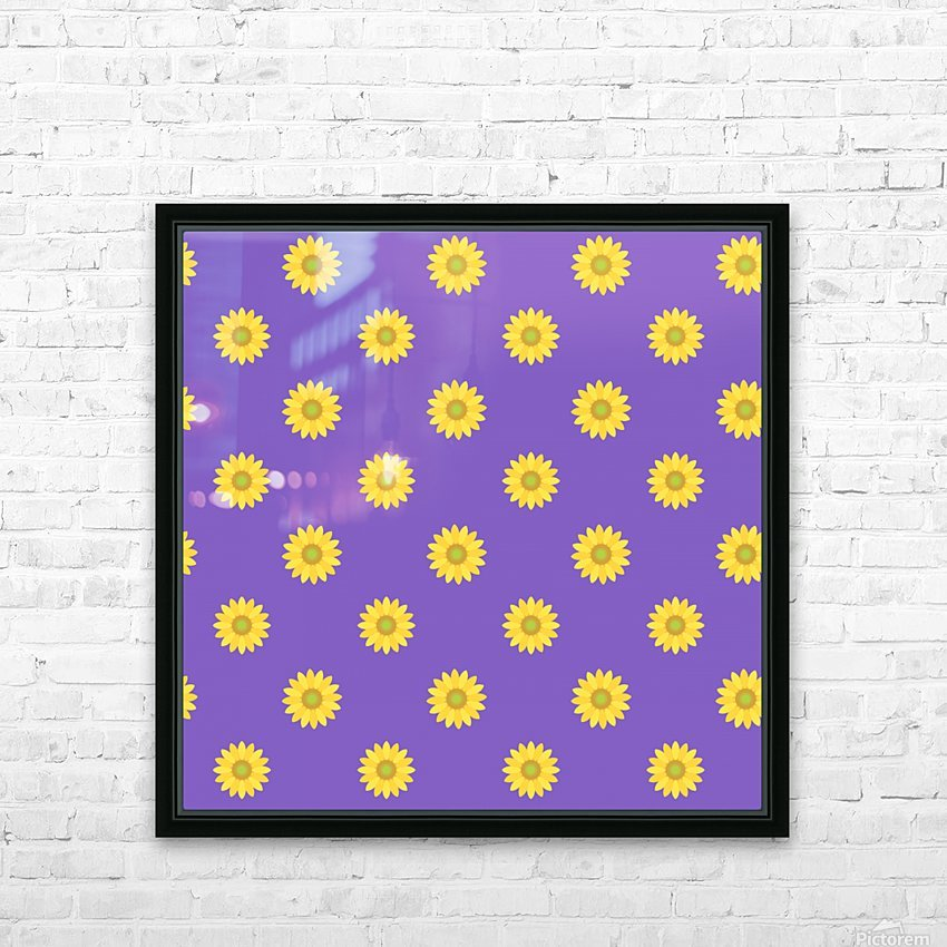 Sunflower (35)_1559876657.3101 HD Sublimation Metal print with Decorating Float Frame (BOX)