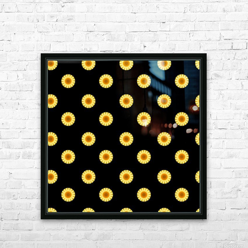 Sunflower (30)_1559876736.2247 HD Sublimation Metal print with Decorating Float Frame (BOX)