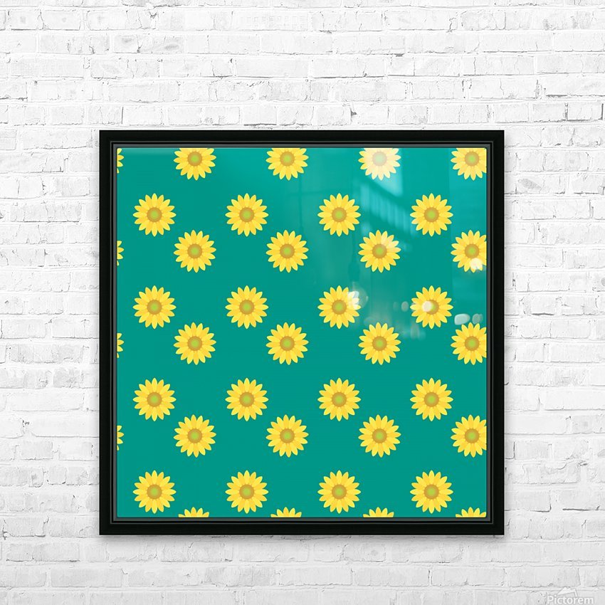 Sunflower (37)_1559876660.7811 HD Sublimation Metal print with Decorating Float Frame (BOX)