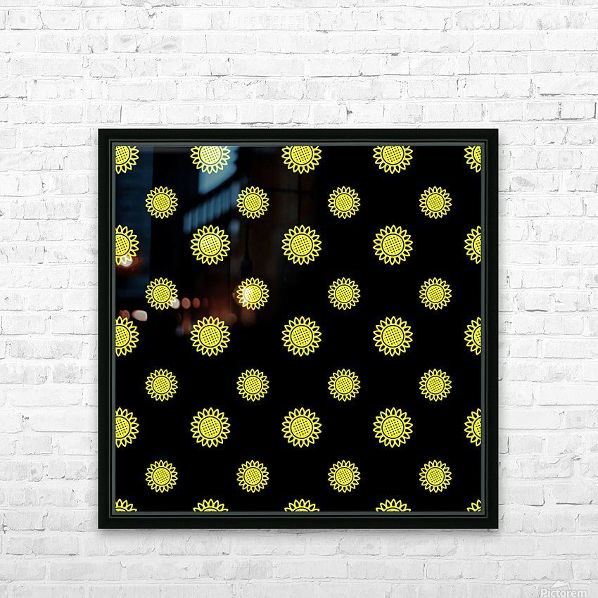 Sunflower (24)_1559876737.3838 HD Sublimation Metal print with Decorating Float Frame (BOX)