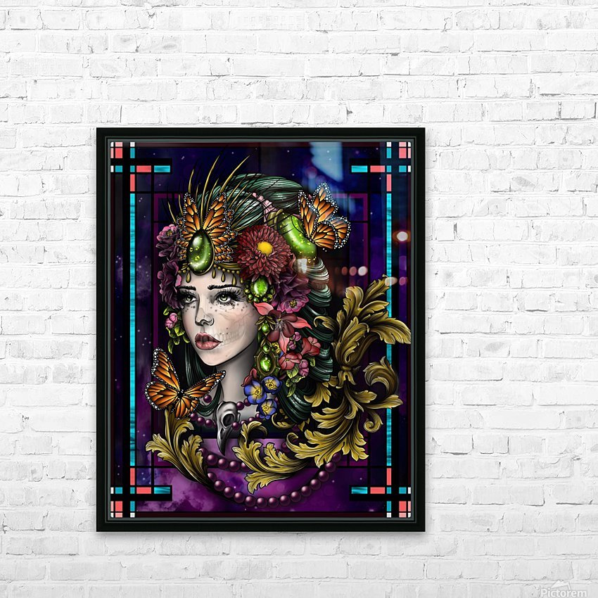 Rhea  HD Sublimation Metal print with Decorating Float Frame (BOX)