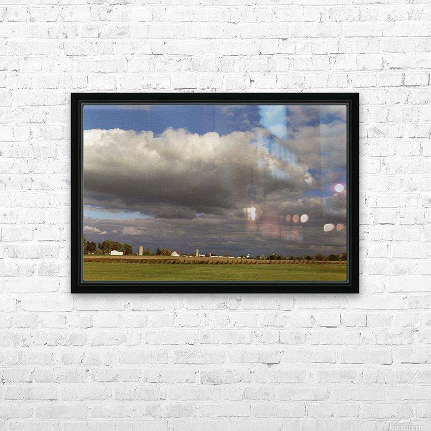 Saskatchewan Canada HD Sublimation Metal print with Decorating Float Frame (BOX)