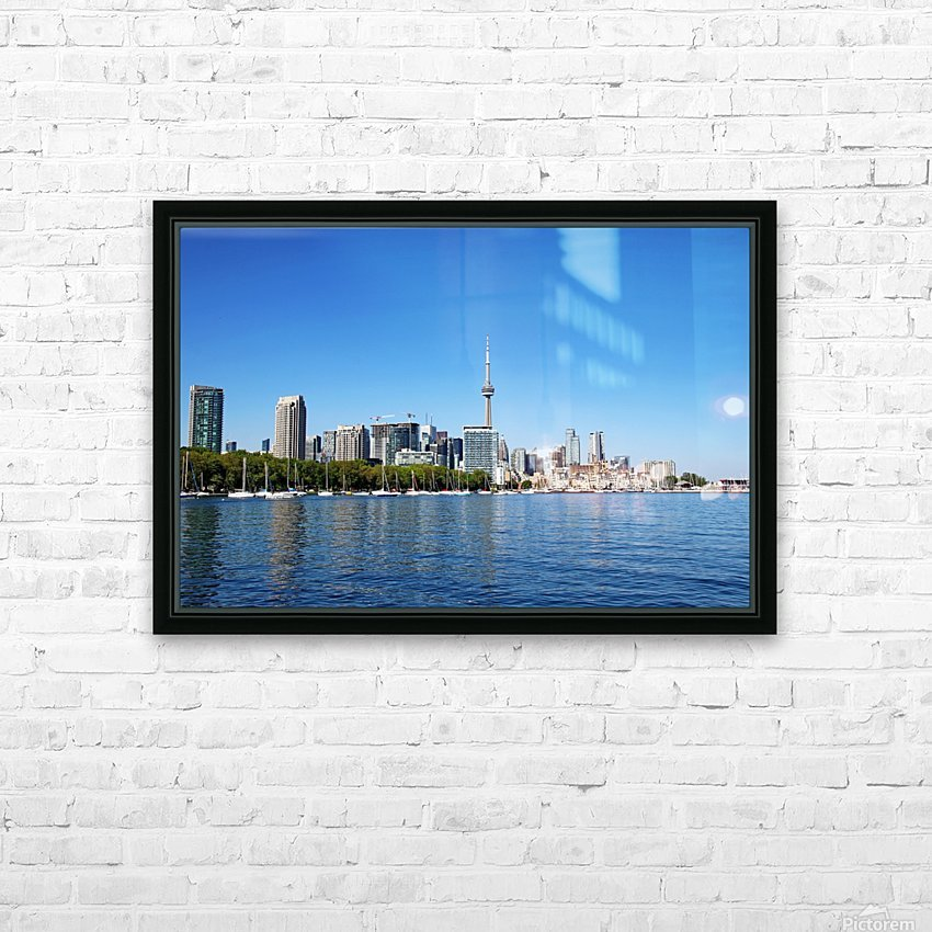 Toronto Harbourfront HD Sublimation Metal print with Decorating Float Frame (BOX)