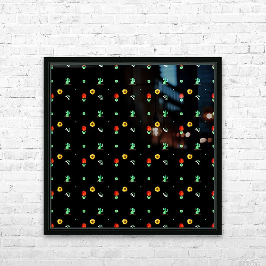 www.005633.blogspot.com   Flower (37) HD Sublimation Metal print with Decorating Float Frame (BOX)