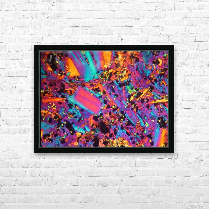 Dynamite HD Sublimation Metal print with Decorating Float Frame (BOX)