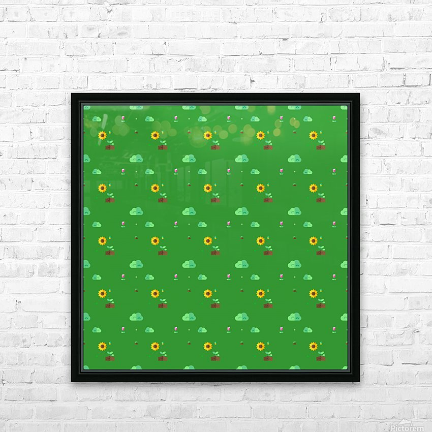 www.6ii7.blogspot.com      Flower (8) HD Sublimation Metal print with Decorating Float Frame (BOX)