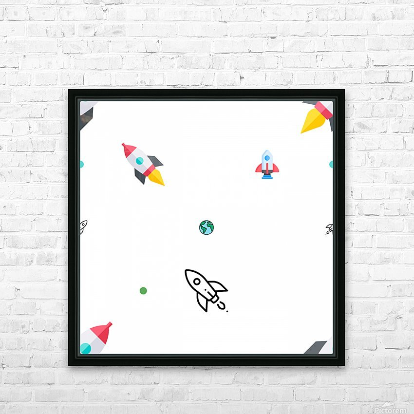 Space (15)_1560183086.7318 HD Sublimation Metal print with Decorating Float Frame (BOX)