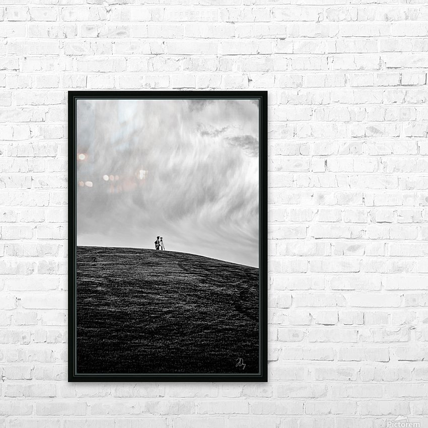 Surveyor... HD Sublimation Metal print with Decorating Float Frame (BOX)