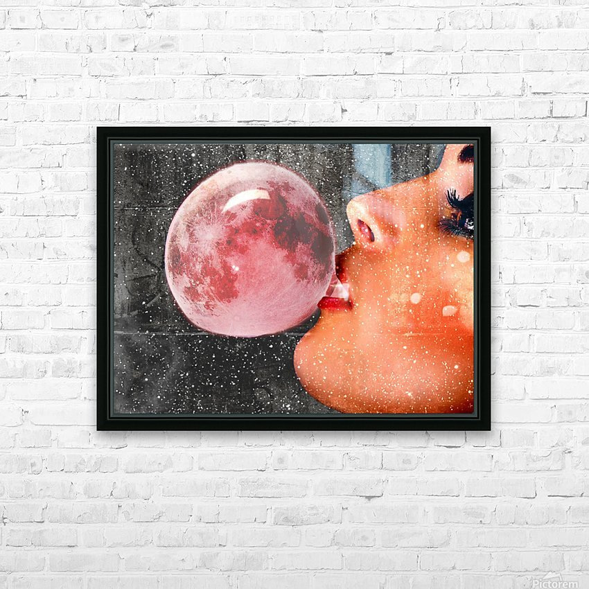 Moonalicious HD Sublimation Metal print with Decorating Float Frame (BOX)