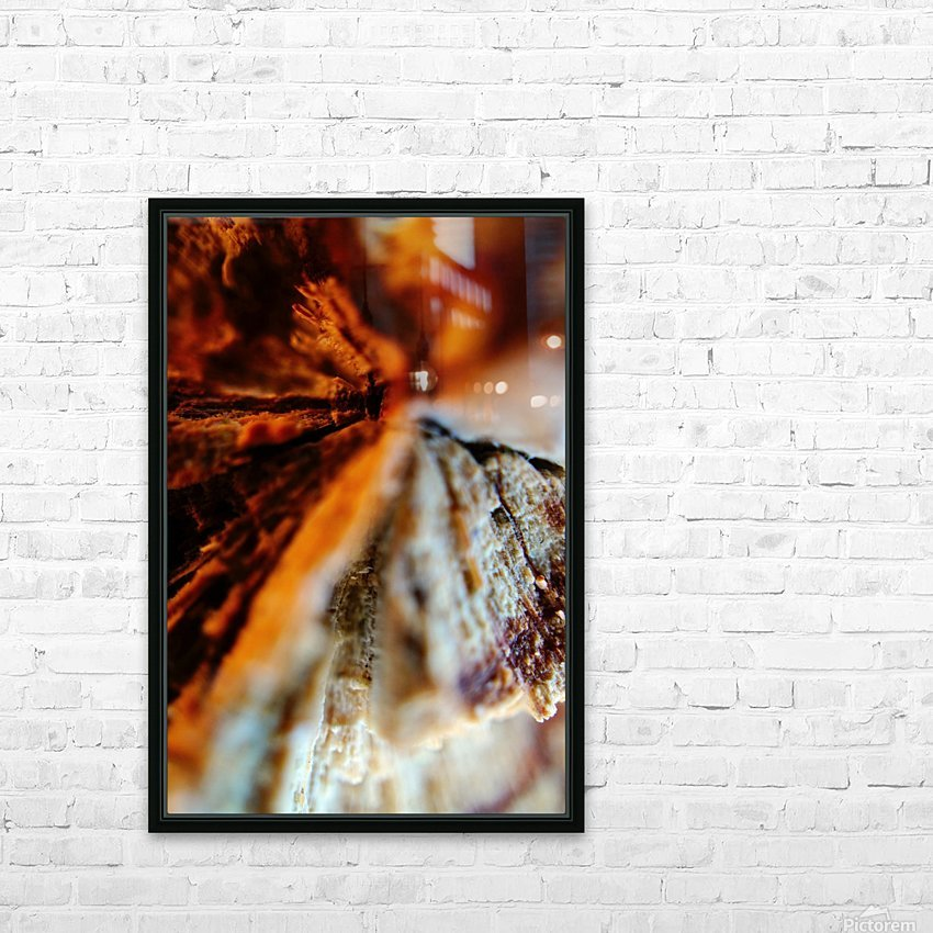 Abstract Macro Nature Photography 110 HD Sublimation Metal print with Decorating Float Frame (BOX)