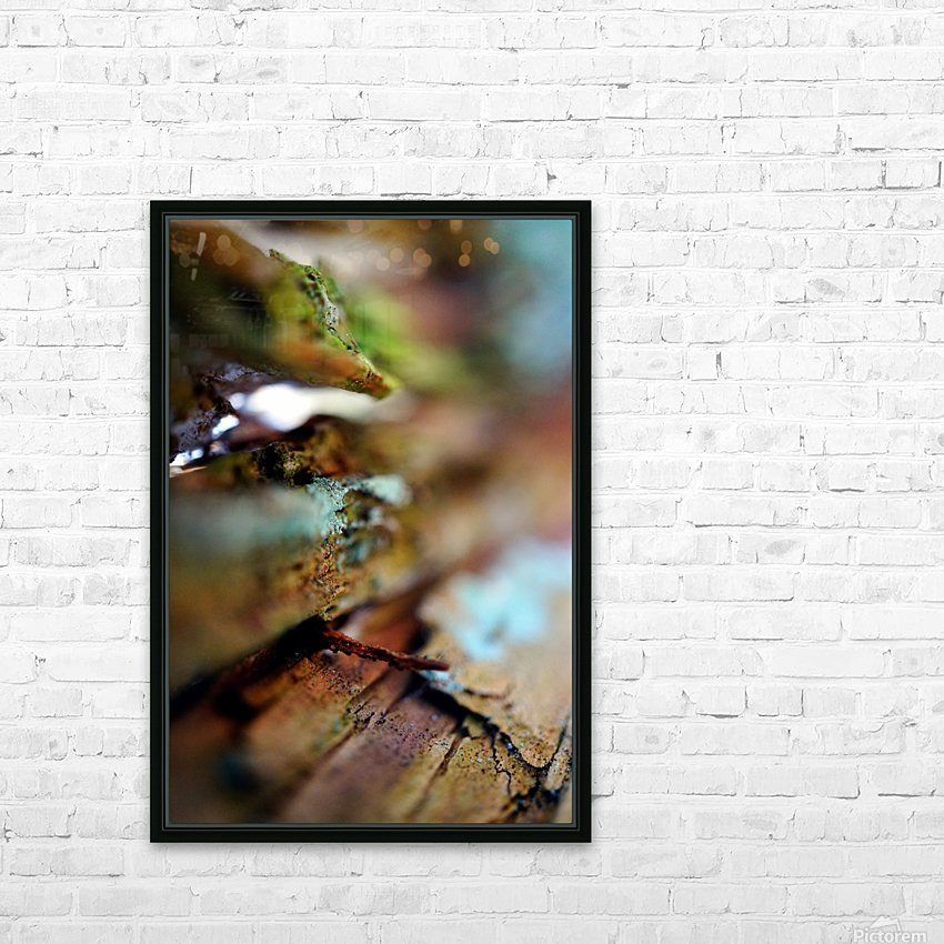 Abstract Macro Nature Photography 95 HD Sublimation Metal print with Decorating Float Frame (BOX)