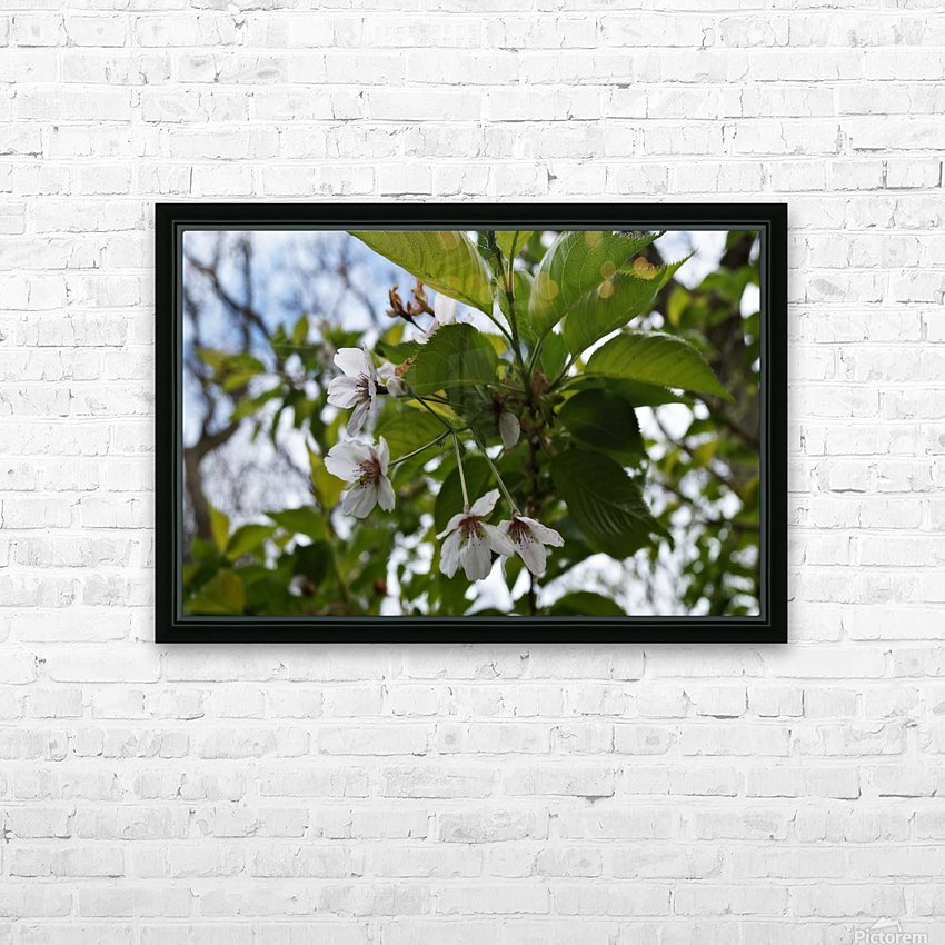 Soft-Focus Flower Scene HD Sublimation Metal print with Decorating Float Frame (BOX)