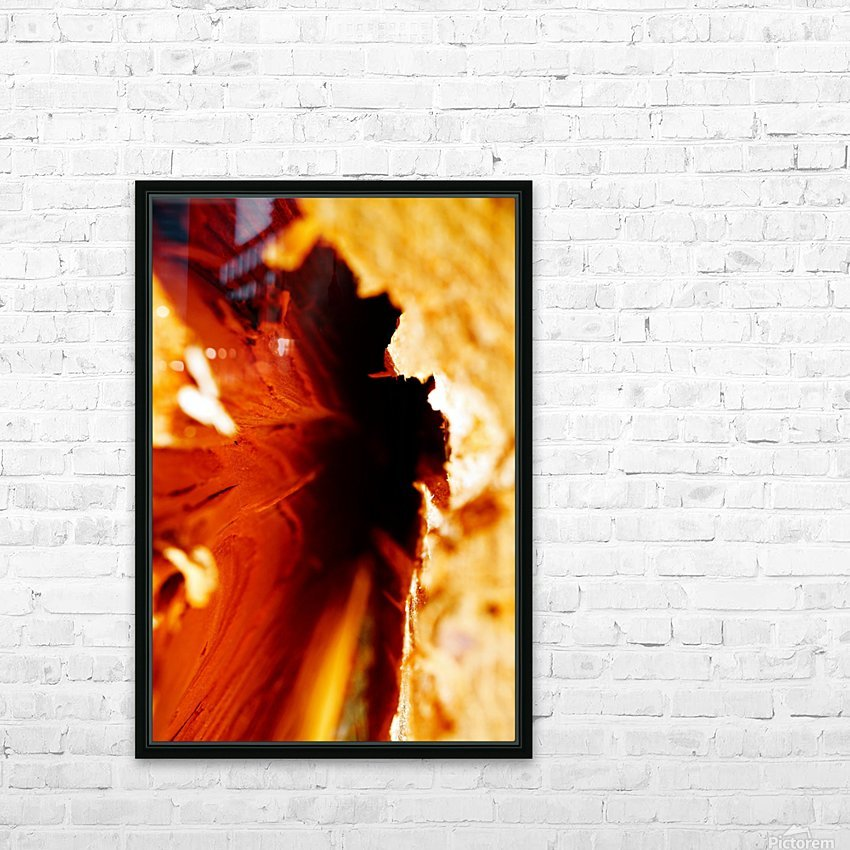 Abstract Macro Nature Photography 86 HD Sublimation Metal print with Decorating Float Frame (BOX)