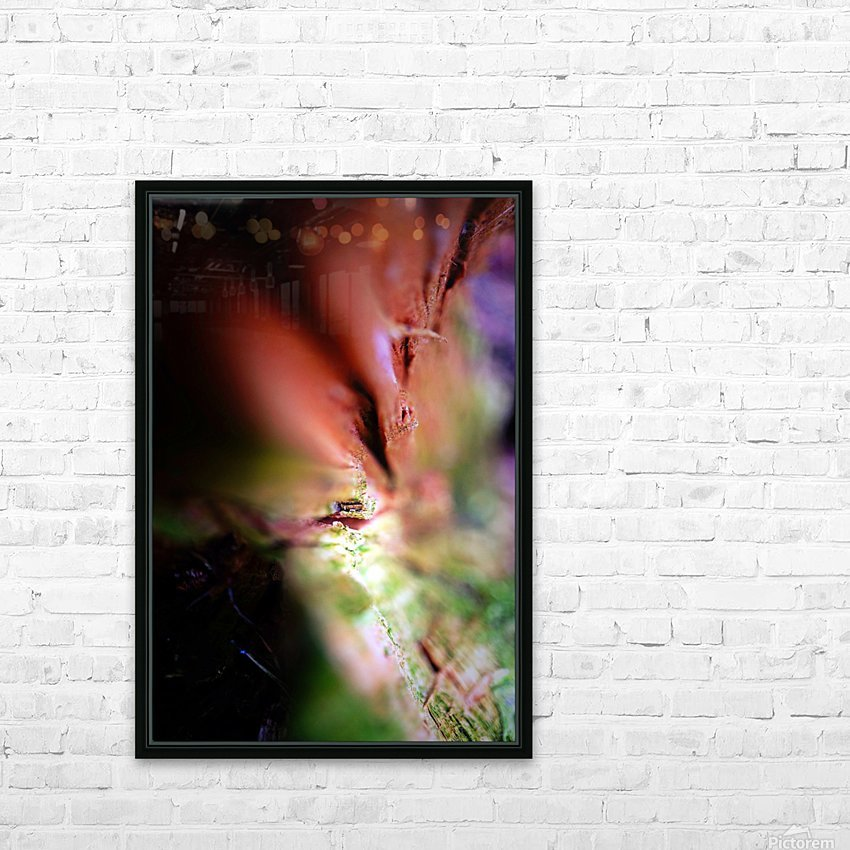 Abstract Macro Nature Photography 84 HD Sublimation Metal print with Decorating Float Frame (BOX)