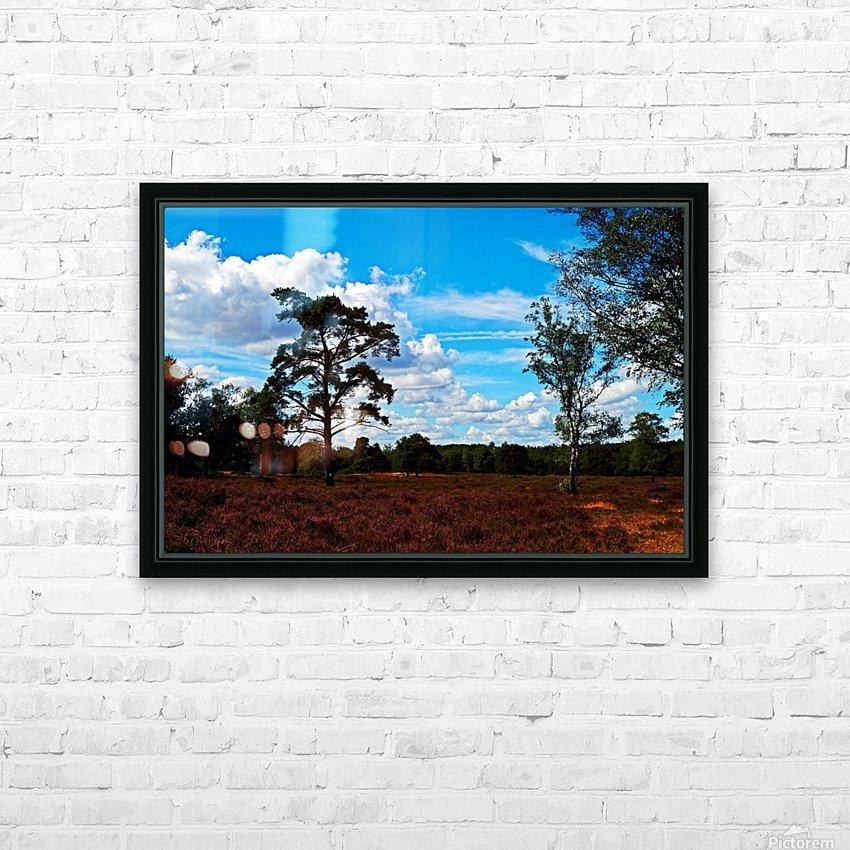 Dunes Landscape 03 HD Sublimation Metal print with Decorating Float Frame (BOX)