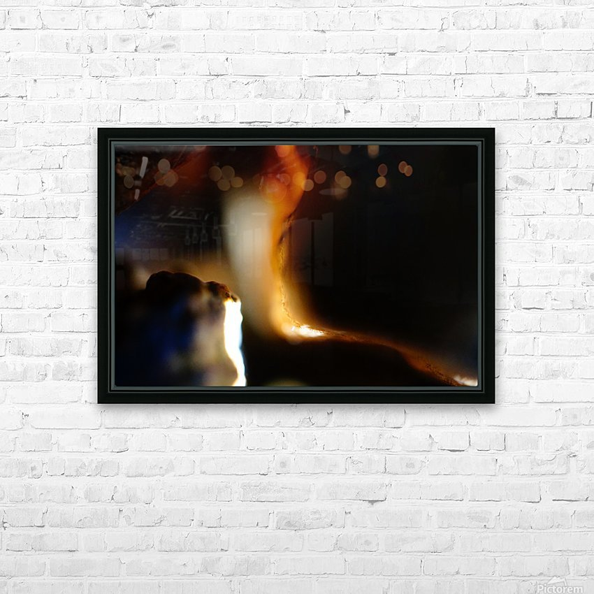 Abstract Macro Nature Photography 53 HD Sublimation Metal print with Decorating Float Frame (BOX)