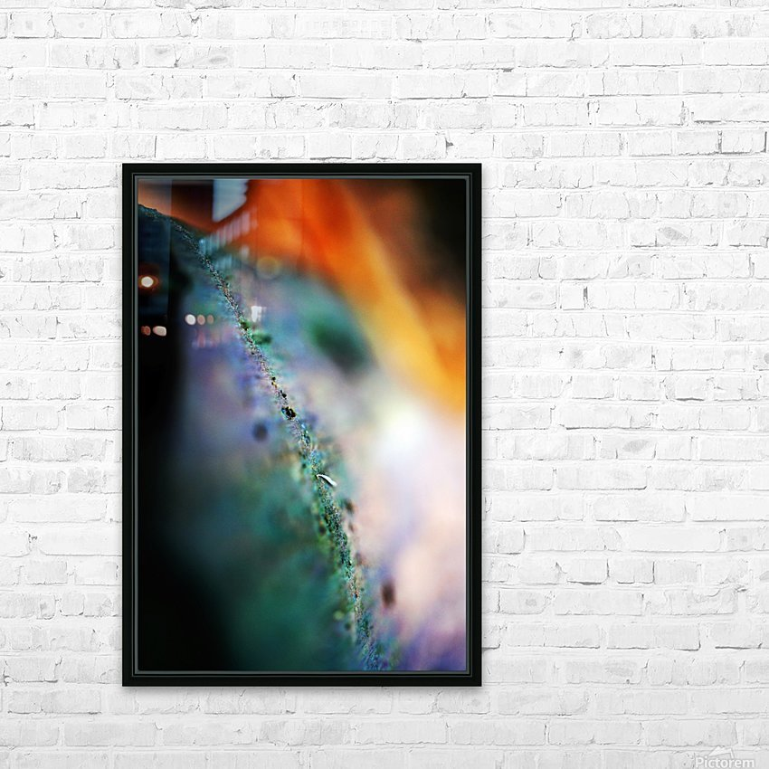 Abstract Macro Nature Photography 48 HD Sublimation Metal print with Decorating Float Frame (BOX)