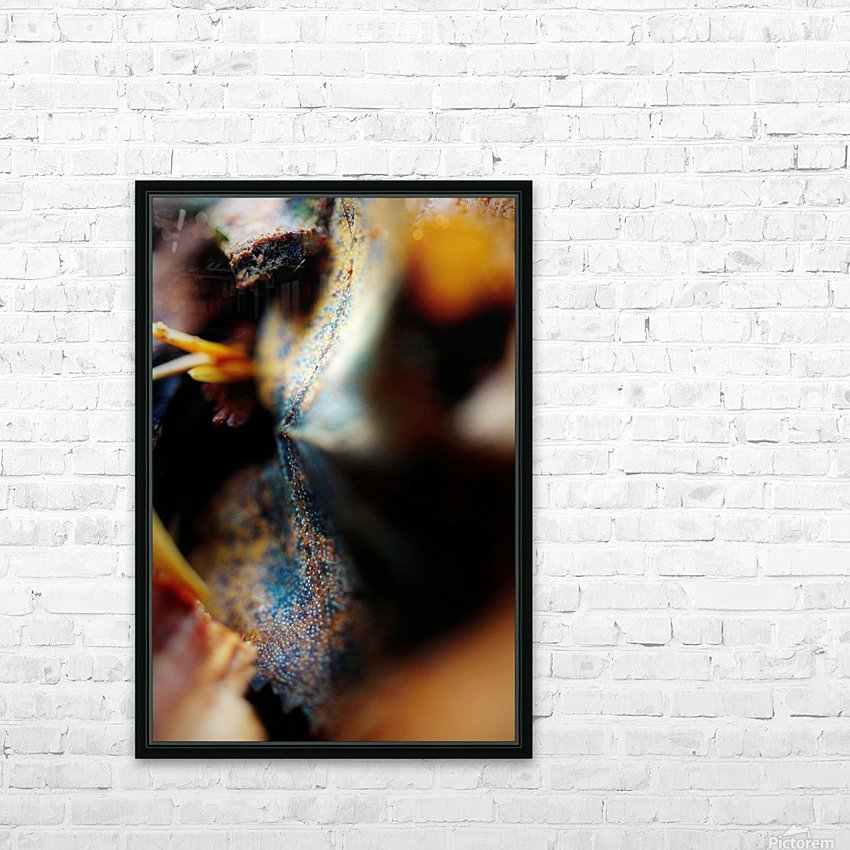 Abstract Macro Nature Photography 47 HD Sublimation Metal print with Decorating Float Frame (BOX)
