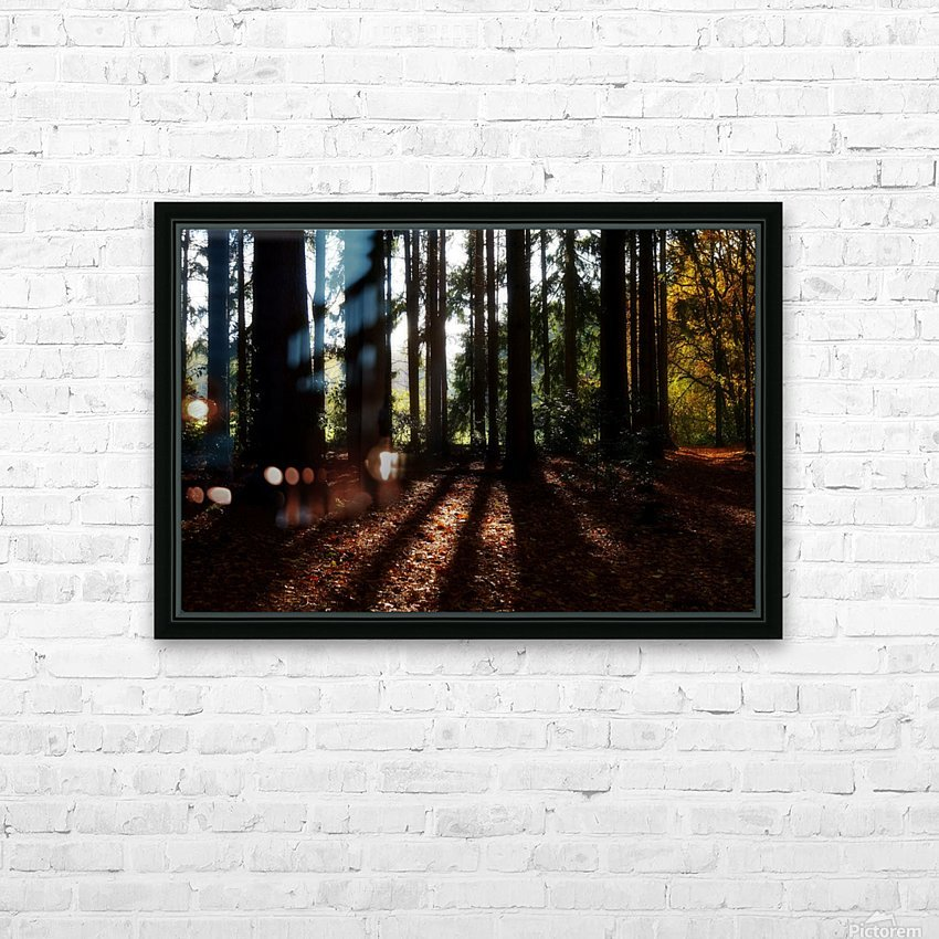 Fantasy Forest 04 HD Sublimation Metal print with Decorating Float Frame (BOX)