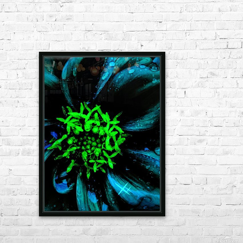 Pedals of Nights HD Sublimation Metal print with Decorating Float Frame (BOX)