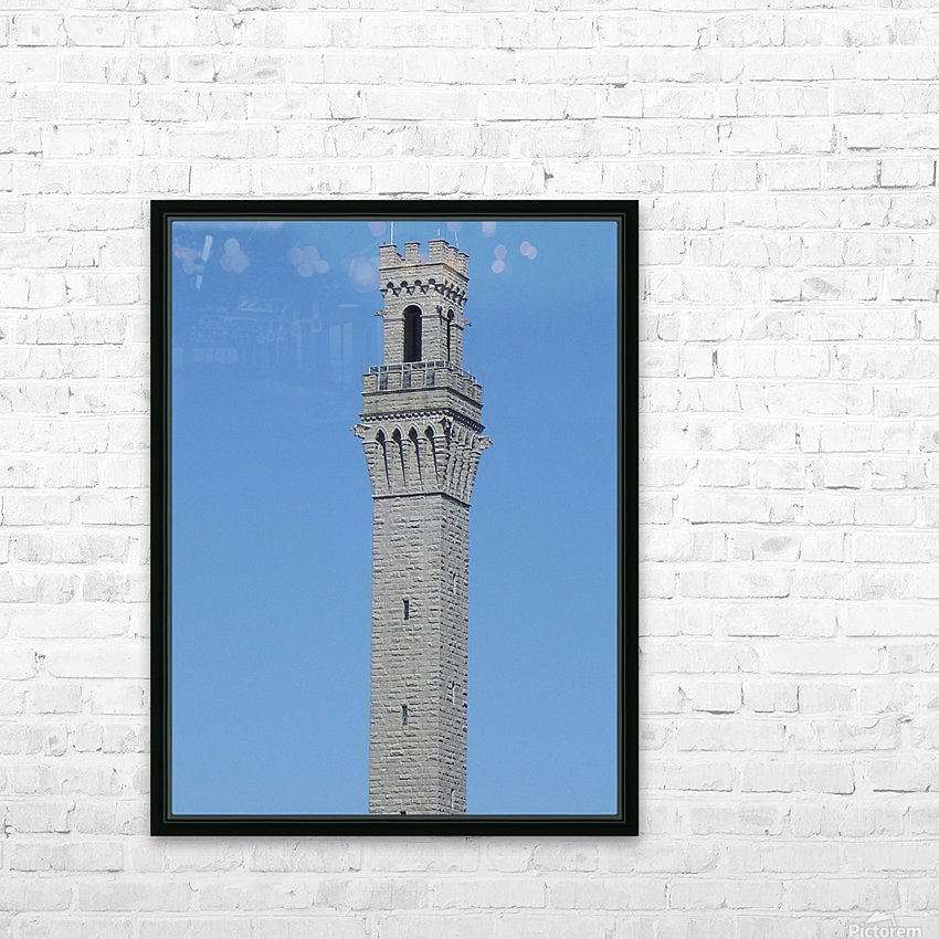 Provincetown Monument - Massachusetts HD Sublimation Metal print with Decorating Float Frame (BOX)