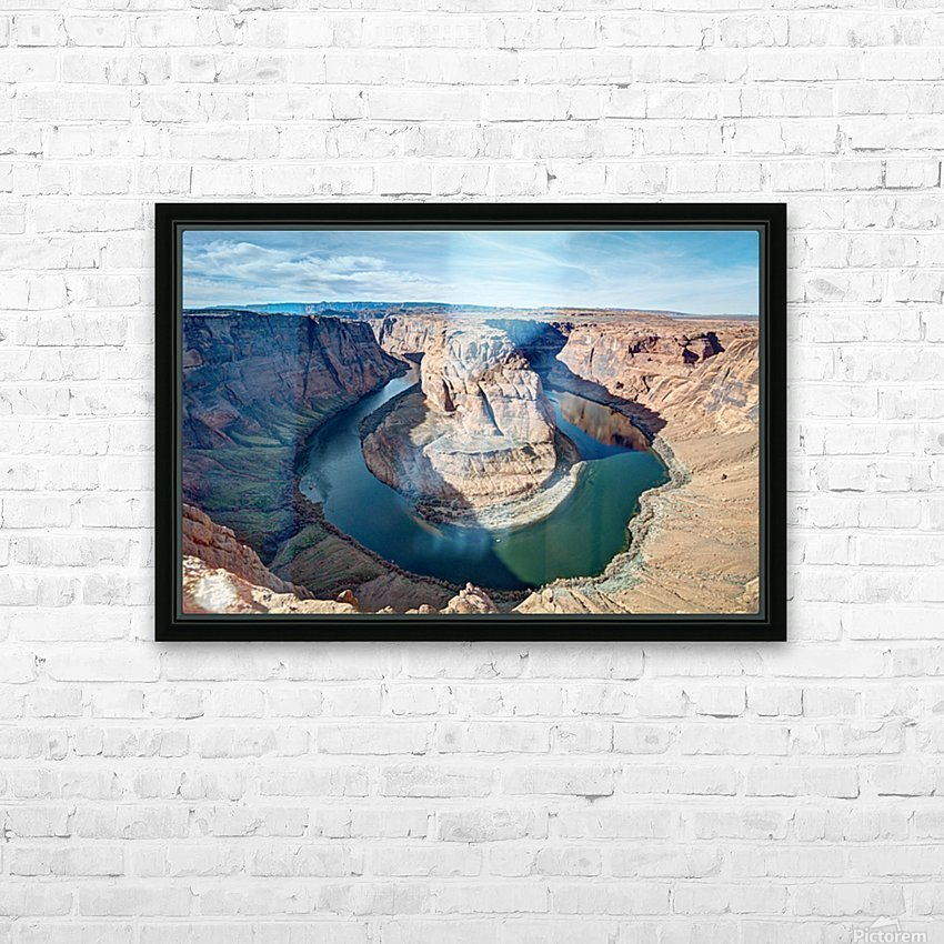 Horse Shoe Arizona HD Sublimation Metal print with Decorating Float Frame (BOX)