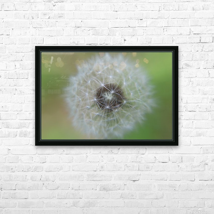 The Depth of a Wish HD Sublimation Metal print with Decorating Float Frame (BOX)