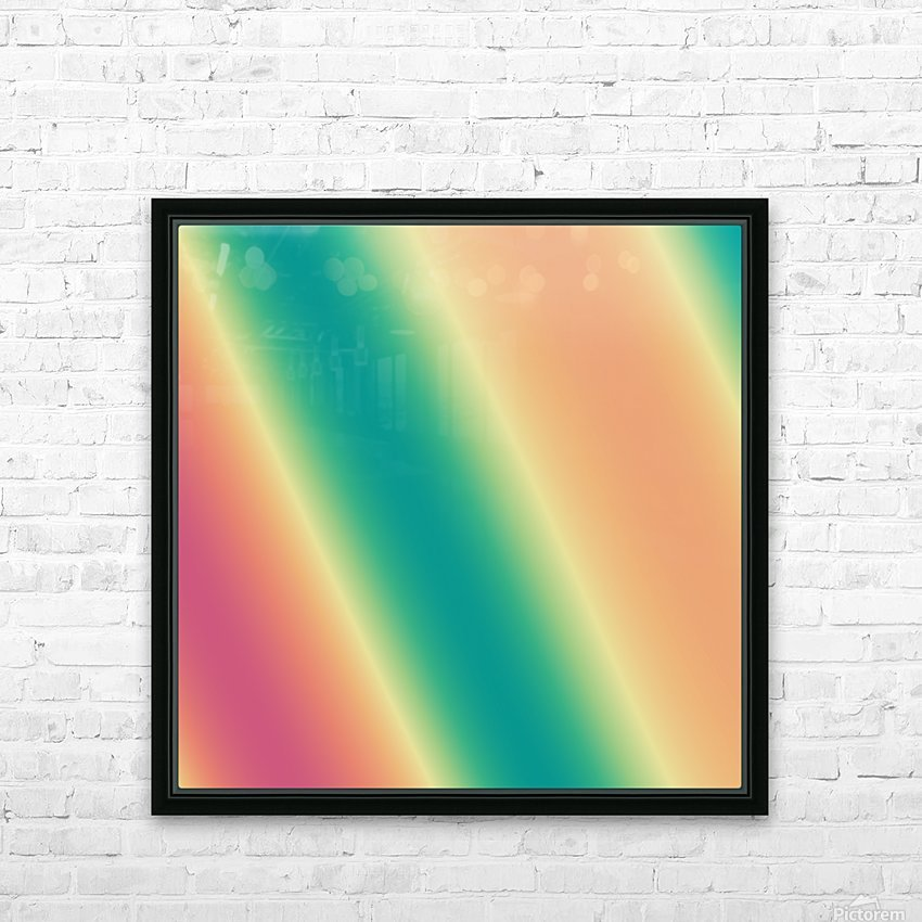 Cool Design (47) HD Sublimation Metal print with Decorating Float Frame (BOX)