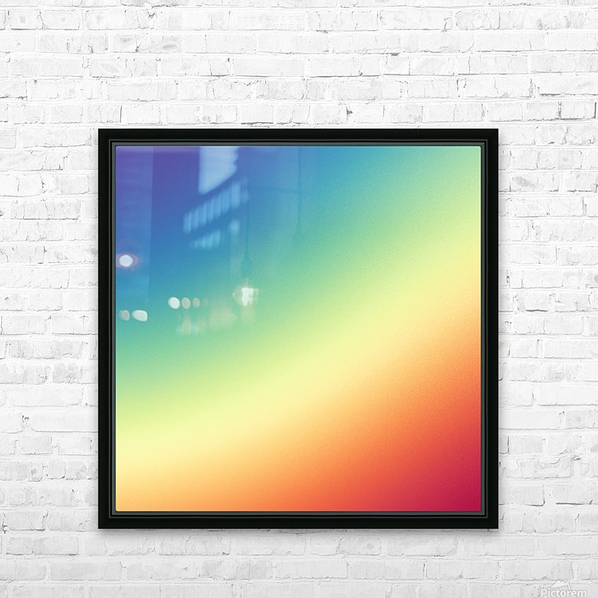 Cool Design (51) HD Sublimation Metal print with Decorating Float Frame (BOX)