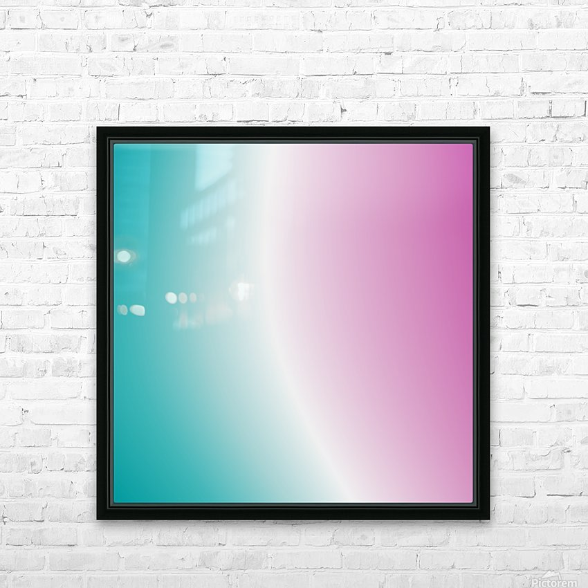 Cool Design (89) HD Sublimation Metal print with Decorating Float Frame (BOX)