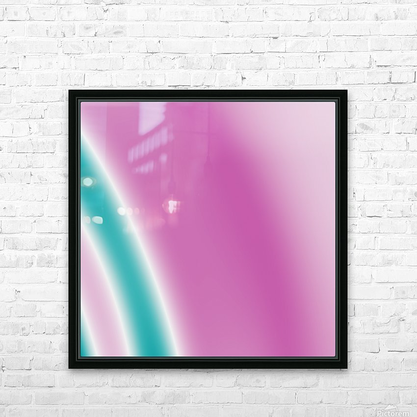 Cool Design (41) HD Sublimation Metal print with Decorating Float Frame (BOX)
