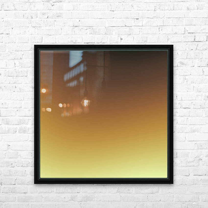 Cool Design (58) HD Sublimation Metal print with Decorating Float Frame (BOX)