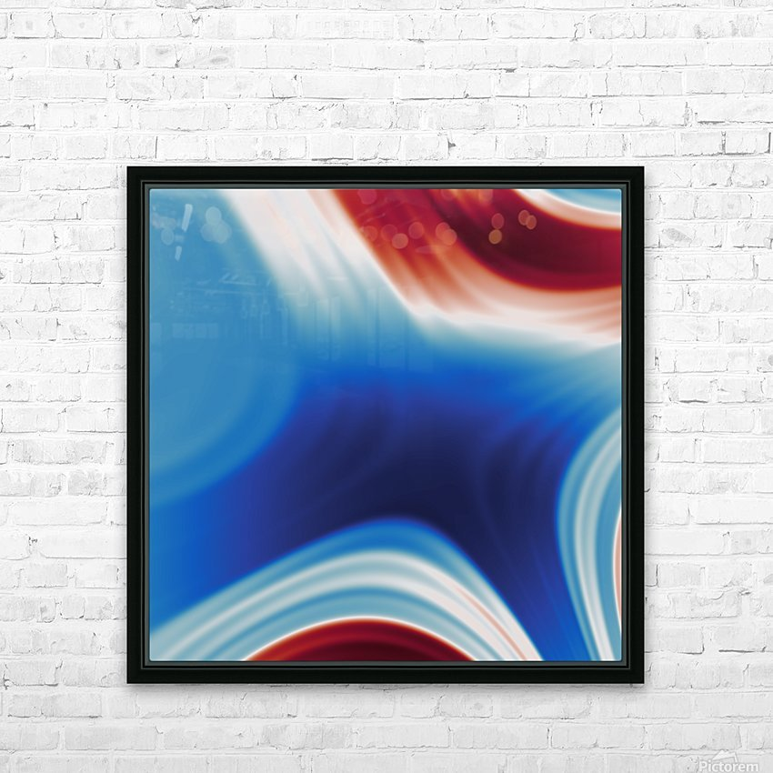 Cool Design (91) HD Sublimation Metal print with Decorating Float Frame (BOX)