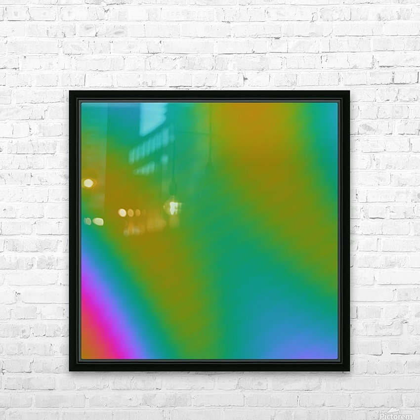 Cool Design (64) HD Sublimation Metal print with Decorating Float Frame (BOX)