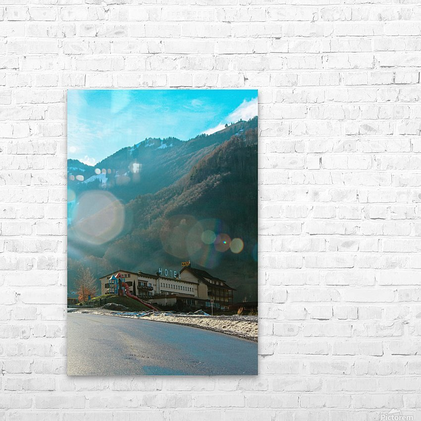 Hotel  HD Sublimation Metal print with Decorating Float Frame (BOX)