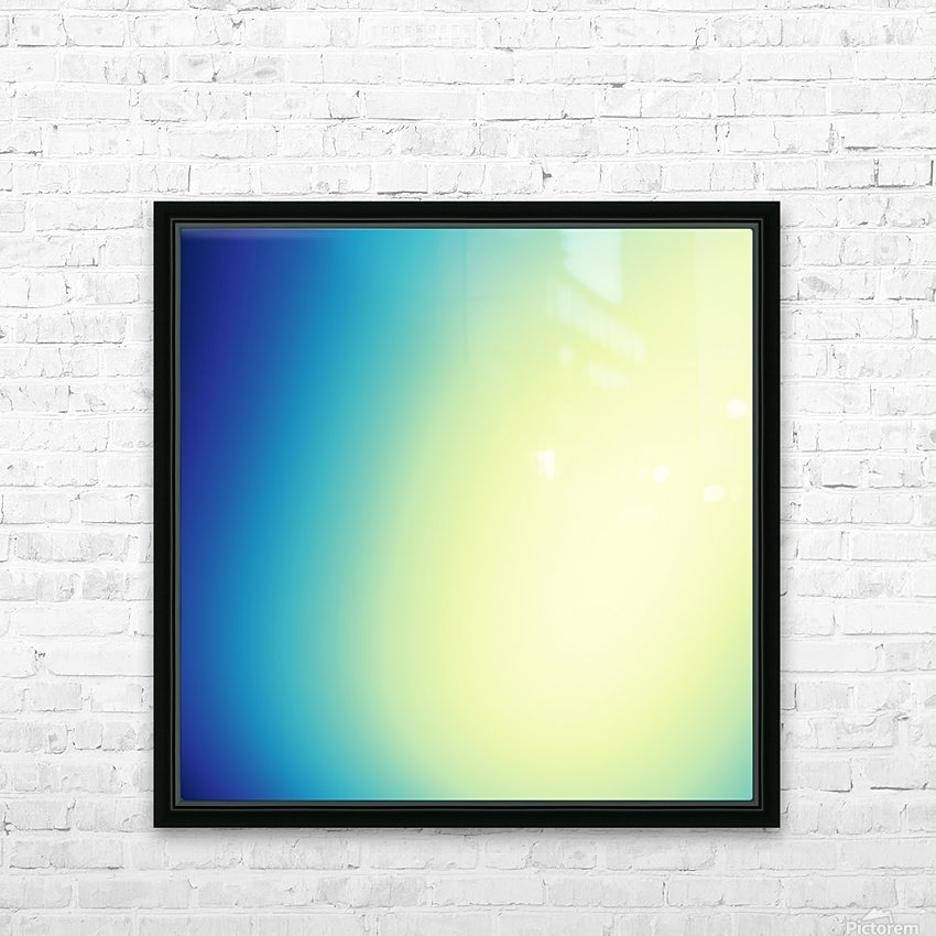 COOL DESIGN  (6) HD Sublimation Metal print with Decorating Float Frame (BOX)