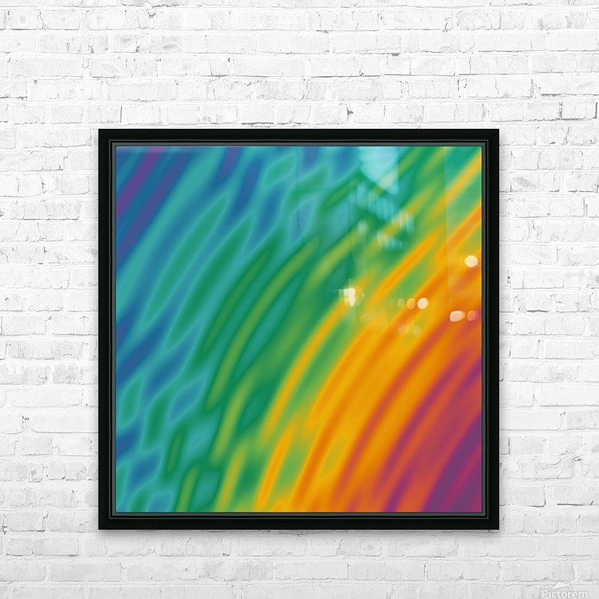 COOL DESIGN  (28) HD Sublimation Metal print with Decorating Float Frame (BOX)
