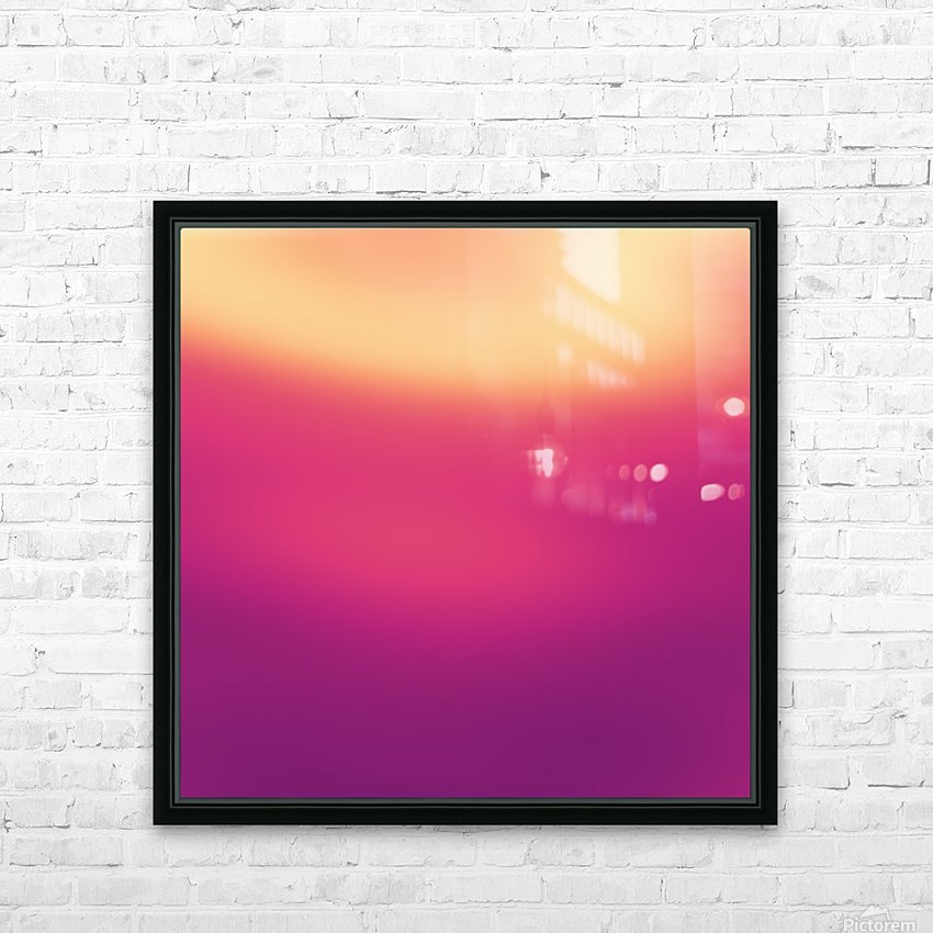 COOL DESIGN  (7) HD Sublimation Metal print with Decorating Float Frame (BOX)